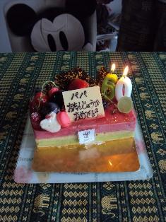 60ケーキ