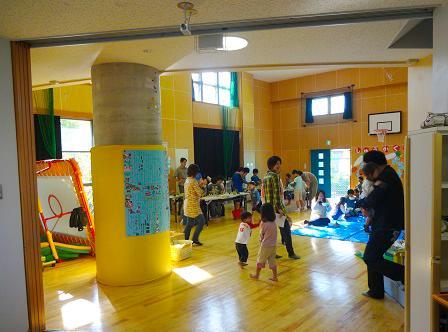 多くの親子が収穫祭を楽しみました。