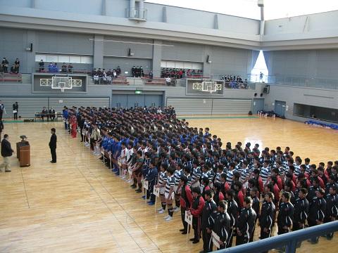 九州新人(25)開会式