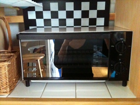 無印良品のオーブントースターの画像