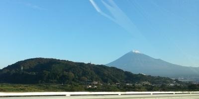 東名高速からの富士②