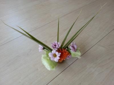 十月の生け花①