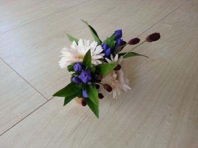 十月の生け花②