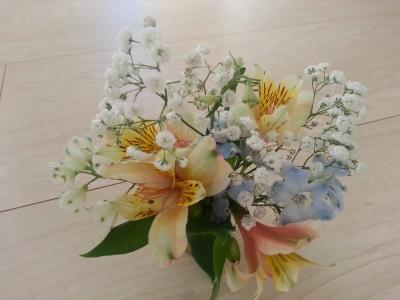 十月の生け花④