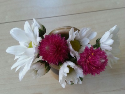十月の生け花⑤