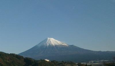 東名から見た富士山
