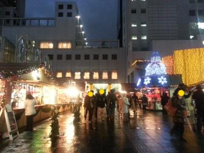 クリスマスマーケット①