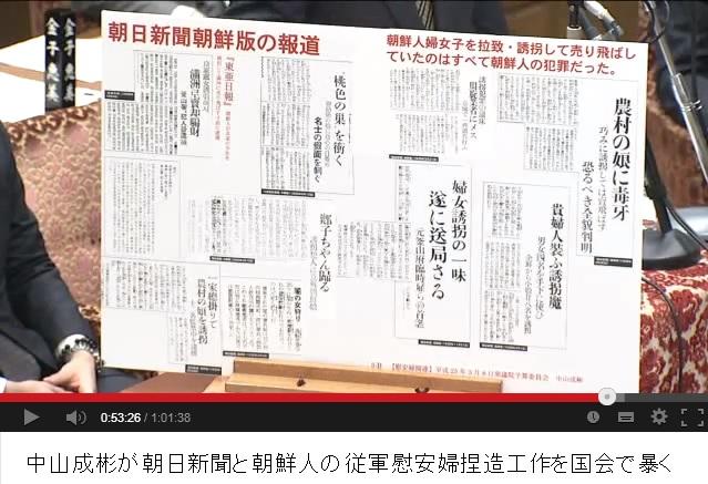 2013-10-8中山成彬の国会での追及
