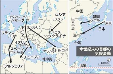 2013-11-2侮日の温暖化バカ話
