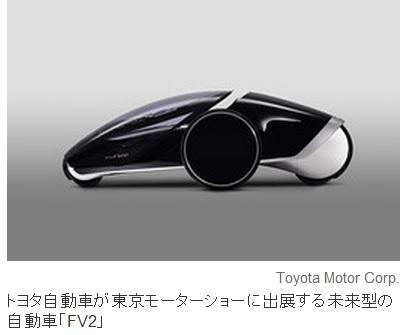 2013-11-7トヨタのコンセプトカーFV2の1