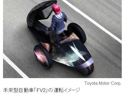 2013-11-7トヨタのコンセプトカーFV2の2