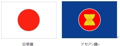 ASEANの旗 - Flag of the Associ...