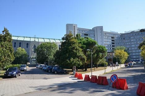 STK 3239 - ミラノ近代建築「サンカルロ病院教会」