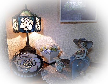 しばし薔薇ランプ