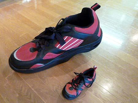 ドイツ製巨大靴