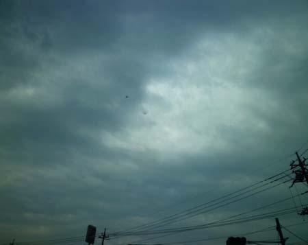 今日の空・・・