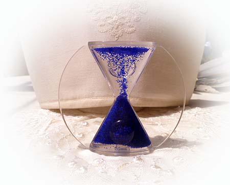 オイル砂時計