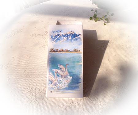 白鳥の水湖