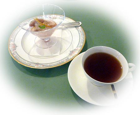 紅茶 & デザ-ト