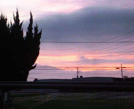 今朝の東空・赤城