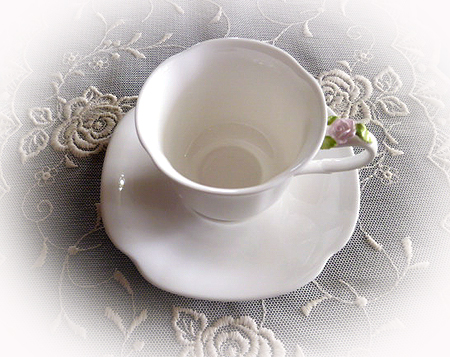 薔薇つきデミカップ