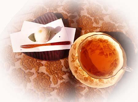 マロン水饅頭&ヌワラエアリア