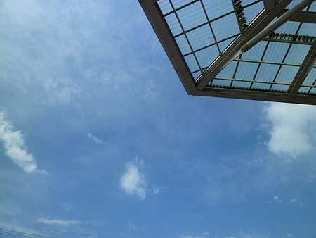 空は爽やか・・・なのに
