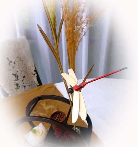 ススキ・赤蜻蛉
