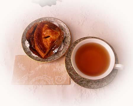 パン屋さんのアップルパイ&ウバ