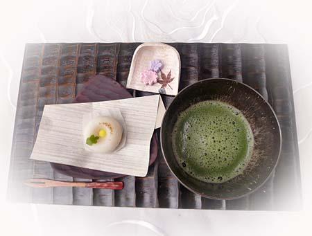 お抹茶&生菓子