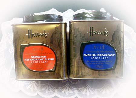 Harrods茶葉