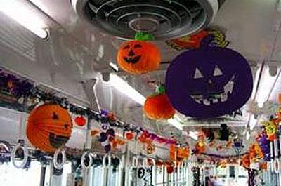 2 ハロウィン電車