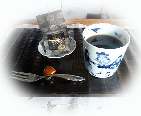 コ-ヒ-で焼きモンブラン