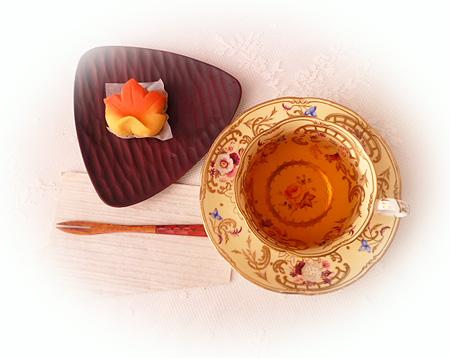 和菓子・照葉&ダ-ジリンF F