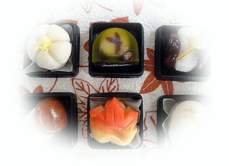 季節の和菓子 のコピー