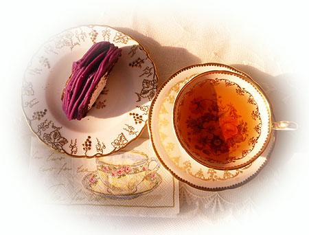 紅芋ロ-ル & ダ-ジリンF F