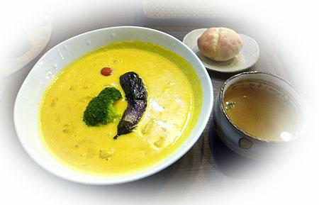 カボチャス-プニョッキ & ス-プ・パン