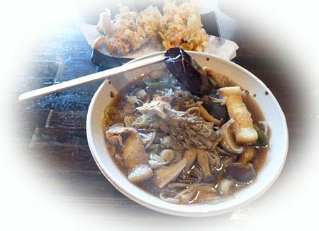 きのこ蕎麦