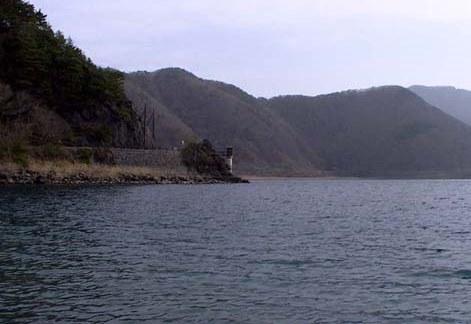 長崎という岬のワンド
