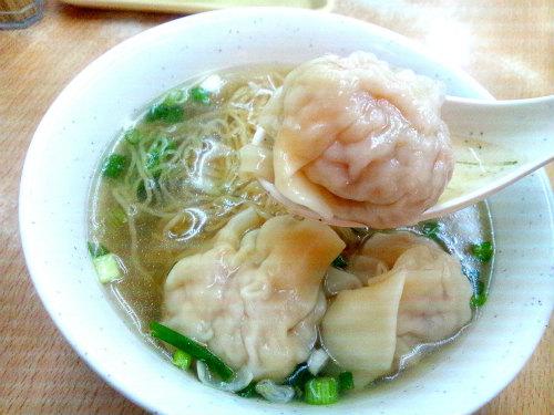 雲呑麺 ワンタンミン 香港