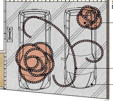 ロケラニの駐車場イメージ