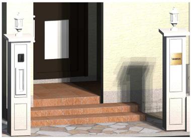 門柱デザイン