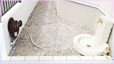 立水栓とホースリール