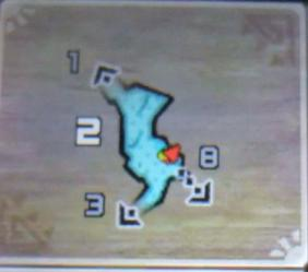 地底洞窟_釣り場Map拡大
