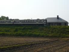 列車が通過