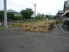 ここに昔、名鉄の関駅があった