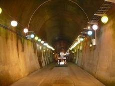 トンネル内の様子