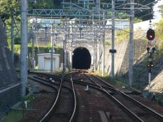 三田線と公園都市線の分岐点