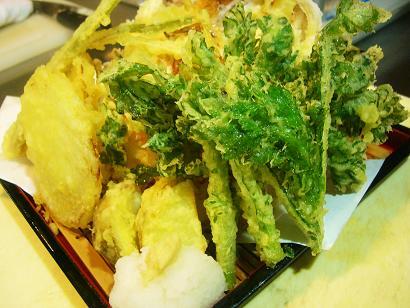 春野菜天ぷら (2)