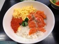 130822鮭いくら丼 (2)